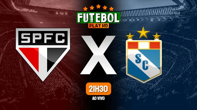 Assistir São Paulo x Sporting Cristal ao vivo 25/05/2021 HD