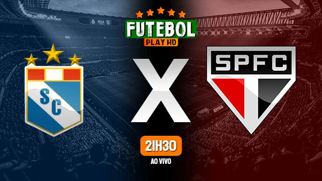 Assistir Sporting Cristal x São Paulo ao vivo HD 20/04/2021 Grátis