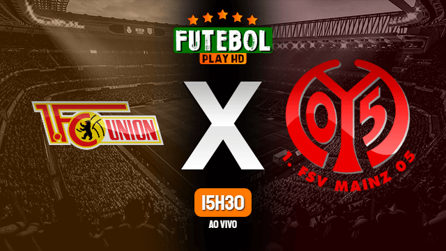 Assistir Union Berlin x Mainz ao vivo HD 27/05/2020