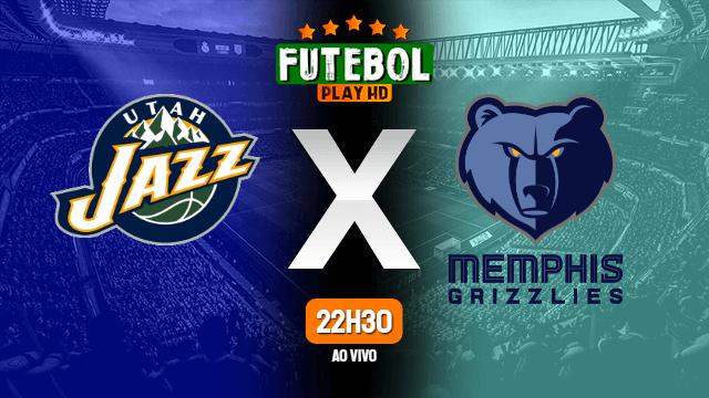 Assistir Utah Jazz x Memphis Grizzlies ao vivo online 23/05/2021 HD