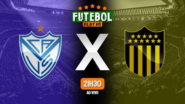 Assistir Velez Sarsfield x Peñarol ao vivo online 28/10/2020 HD