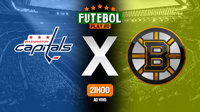 Assistir Washington Capitals x Boston Bruins ao vivo HD 05/03/2021 Grátis
