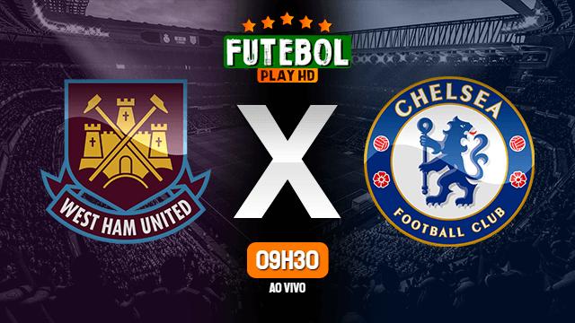 Assistir West Ham x Chelsea ao vivo online em HD 01/07/2020